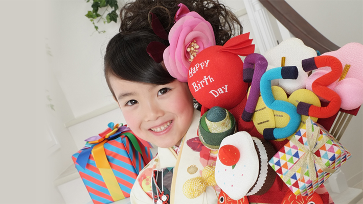 Happy Birthday 七五三