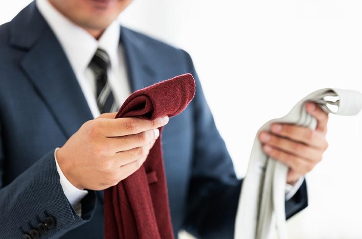 ネクタイ 色 七五三